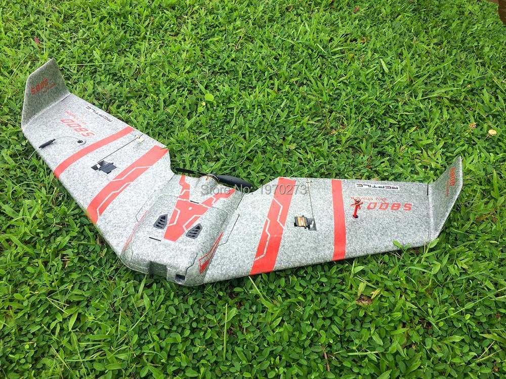 Reptil S800 V2 sombra 820mm gris FPV del PPE de vuelo ala de vuelo Racer PNP con FPV sistema-in Aviones RC from Juguetes y pasatiempos    1