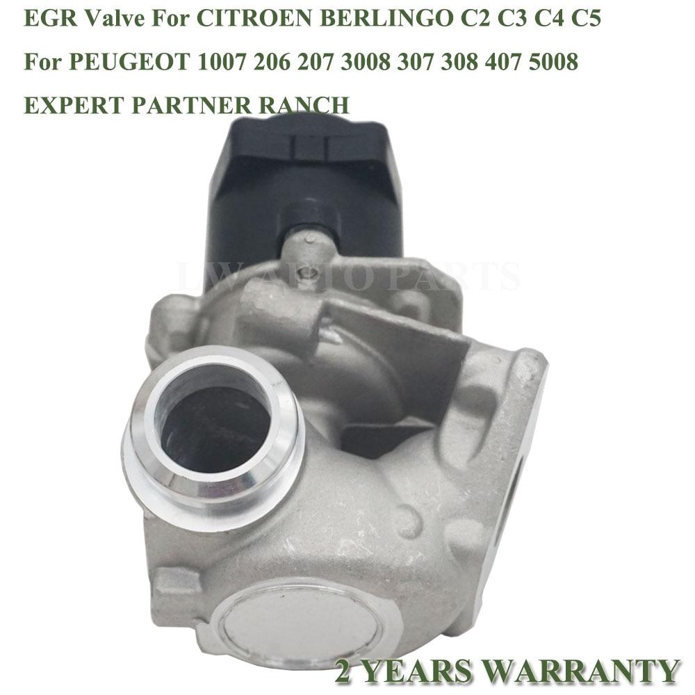EGR VALVE FOR CITROEN BERLINGO C2 C3 C4 C5 XSARA PICASSO 1.6 HDI 161859 1618NR