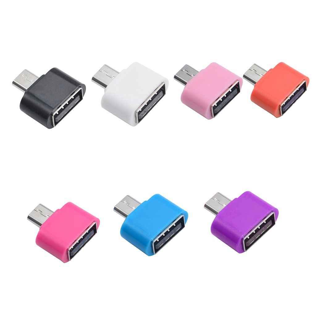 نمط البسيطة كابل OTG USB وتغ محول المصغّر USB لتحويل USB للكمبيوتر لوحي الروبوت
