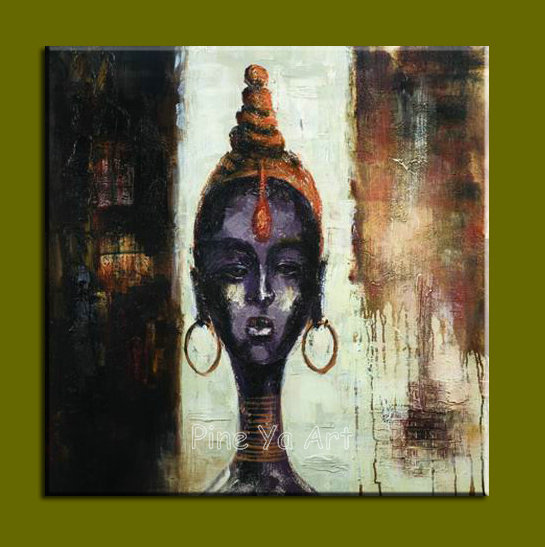 Large modern abstract canvas decorative buddha canvas wall art picture oil painting on canvas for living