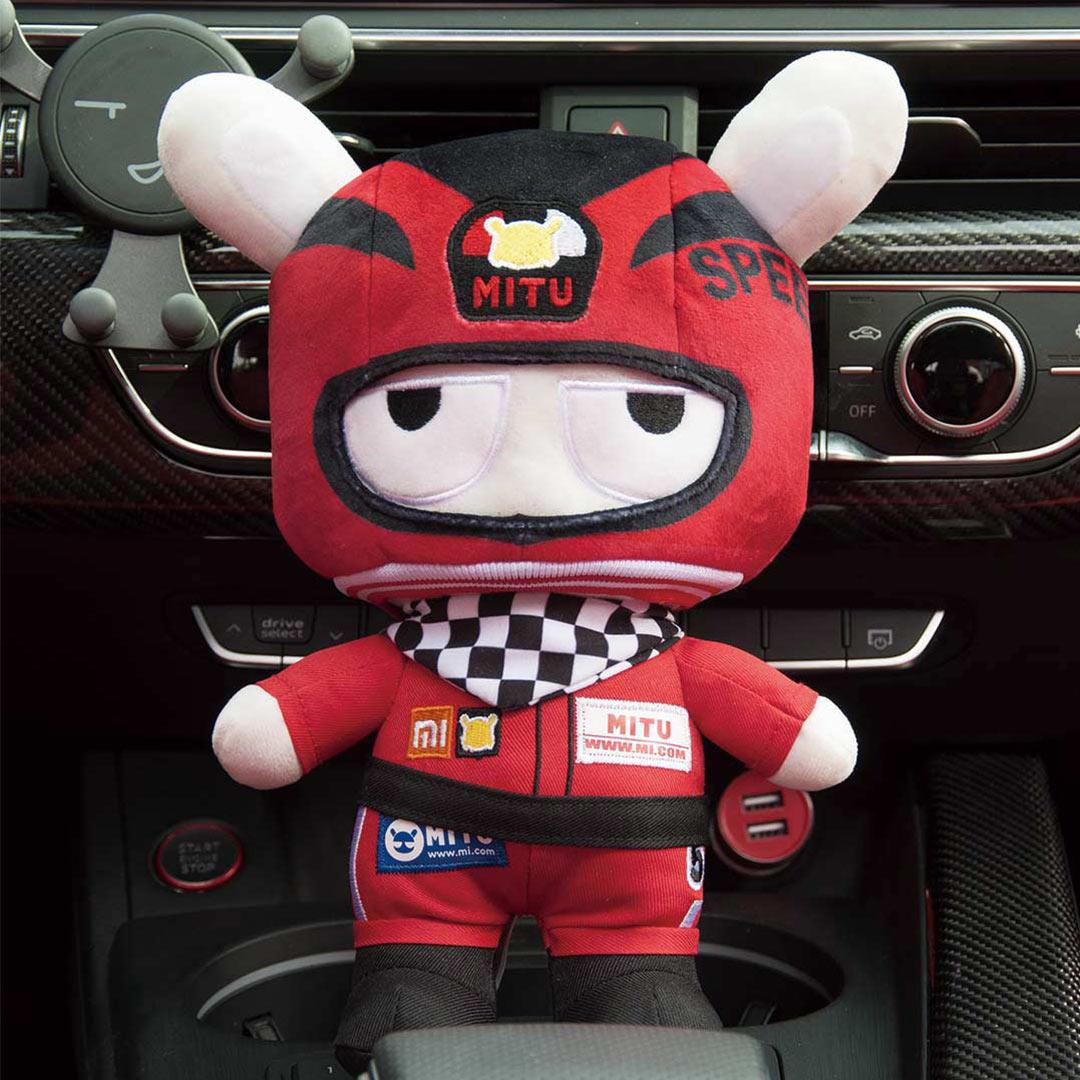 Mitu 25CM Rabbit Original Red Racer Soft Fabric PP Cotton Cartoon Cute Toys Gift For Kids Child DIY Kits Craft Toys