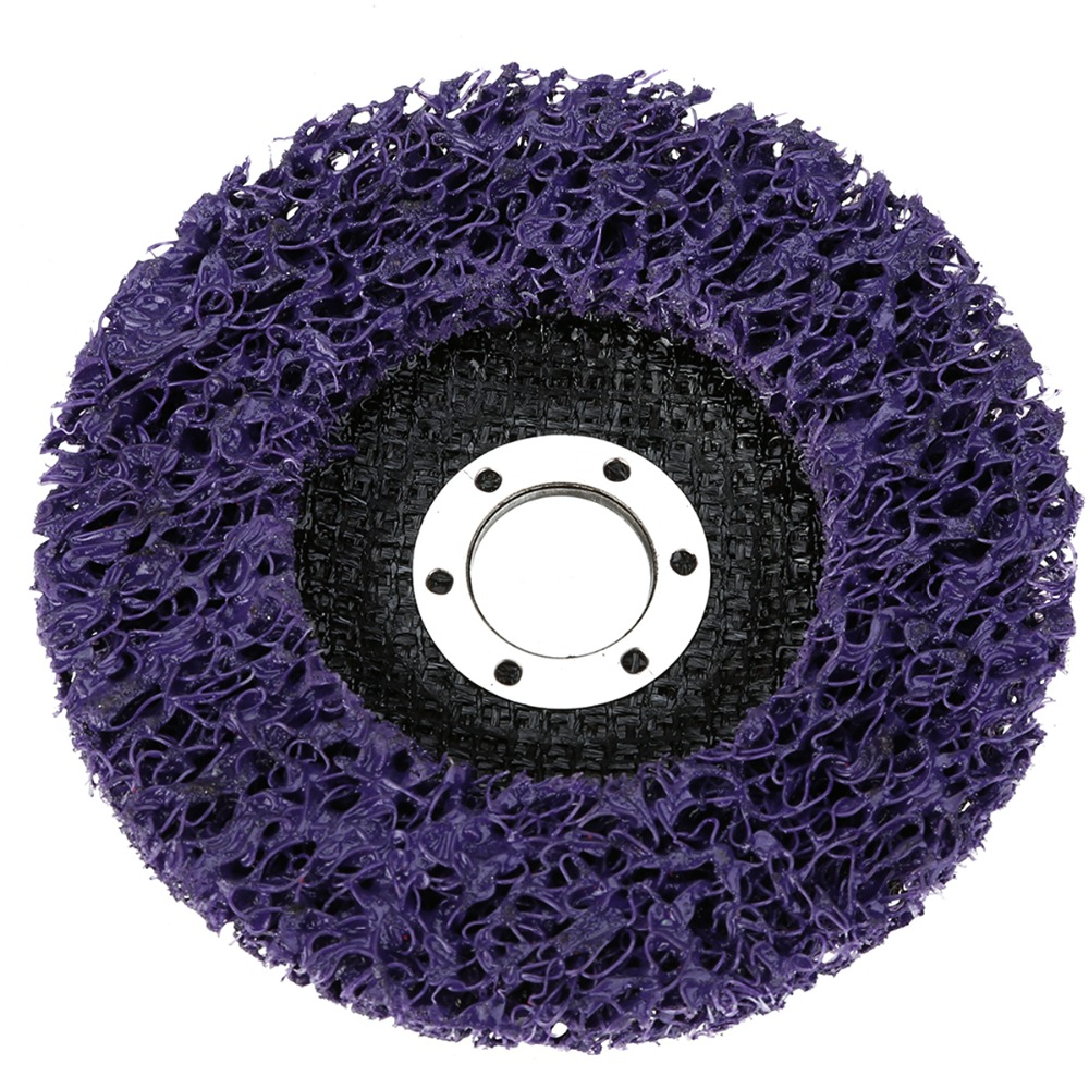 2pcs Mayitr Purple 125mm Poly Strip Disc Grinder Wheel Paint Rust Removal Clean For Angle In Abrasive Tools From On Aliexpress Alibaba