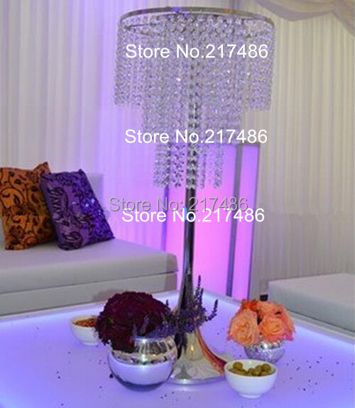 Beautiful Inexpensive Wedding Centerpieces: 25 Beautiful Cheap And Amazing Tall Wedding Table Crystal