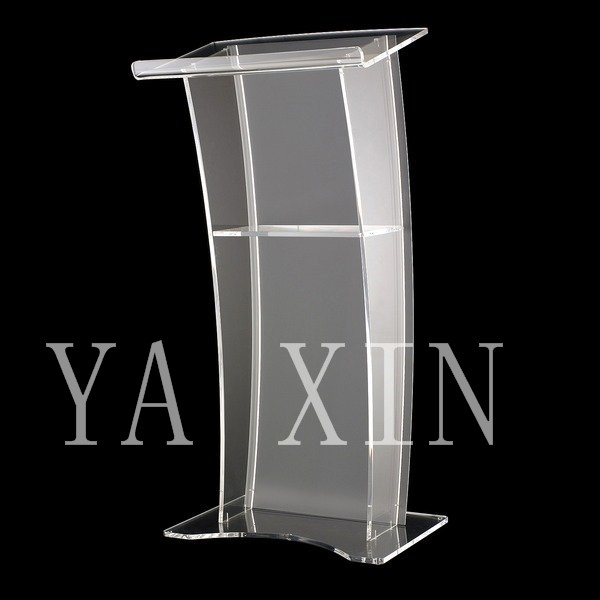 Free Shipping High Quality Fruit Setting Modern Design Cheap Clear Acrylic Lectern free shipping high quality modern design cheap clear acrylic lectern for church