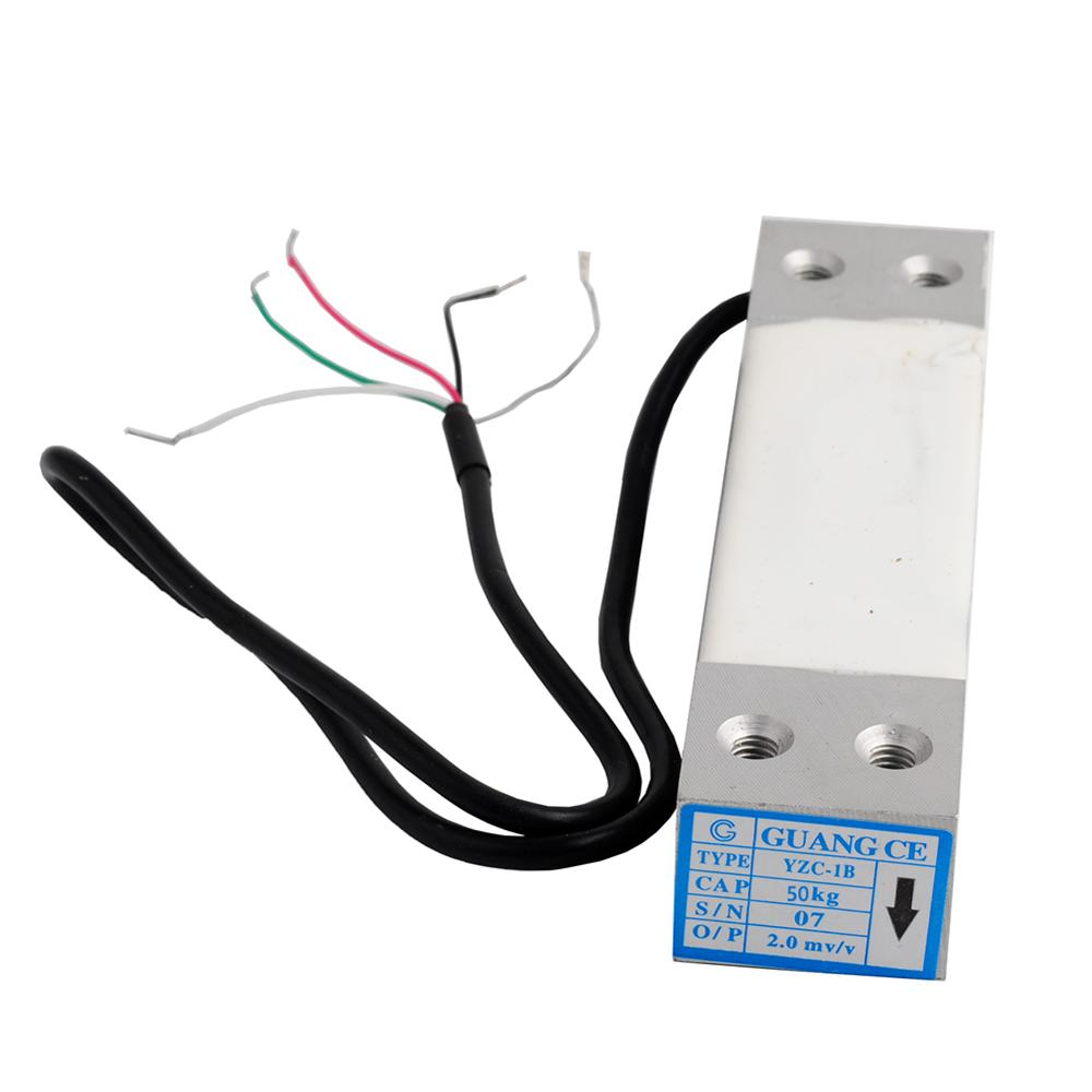 50kg Load Cell Scale Wide Measurement Platform Scale Pressure Weight Weighing Sensor YZC-1B
