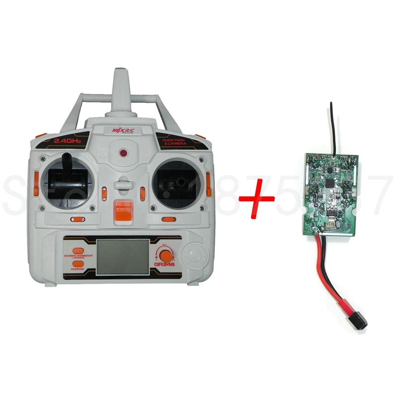 MJX X101 Remote Controller Transmitter Receiver PCB Board Spare Parts For RC Drone Quadcopte Circuit In Accessories From