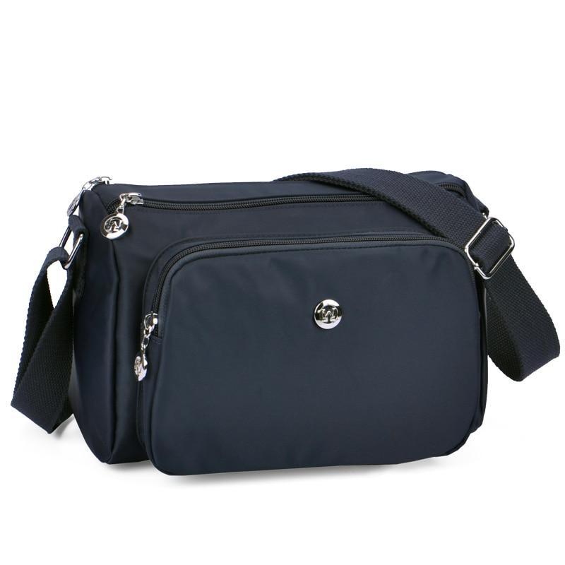 Women Crossbody Bag Handbag 2017 Fashion Nylon Messenger Bags Canvas Handbags Bags For Women Shoulder Bags Bolsa Feminina