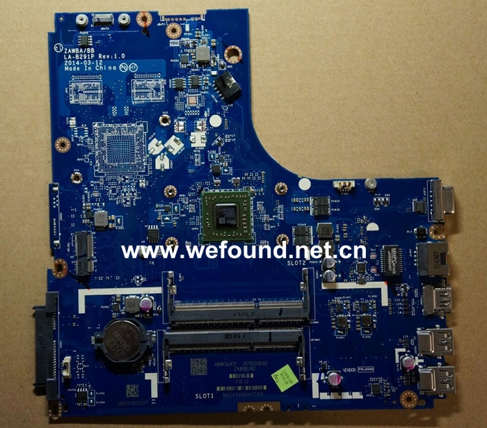 laptop Motherboard For lenovo B50-45 LA-B291P Rev1.0 system mainboard, Fully Tested laptop motherboard for lenovo g580 b580 48 4wq02 011 system mainboard fully tested and working well