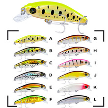 1PCS 11G 8CM Minnow Fishing Lure Pesca Artificial ABS Hard Bait 6# Hook Snakehead Swimbait Tackles For Lake