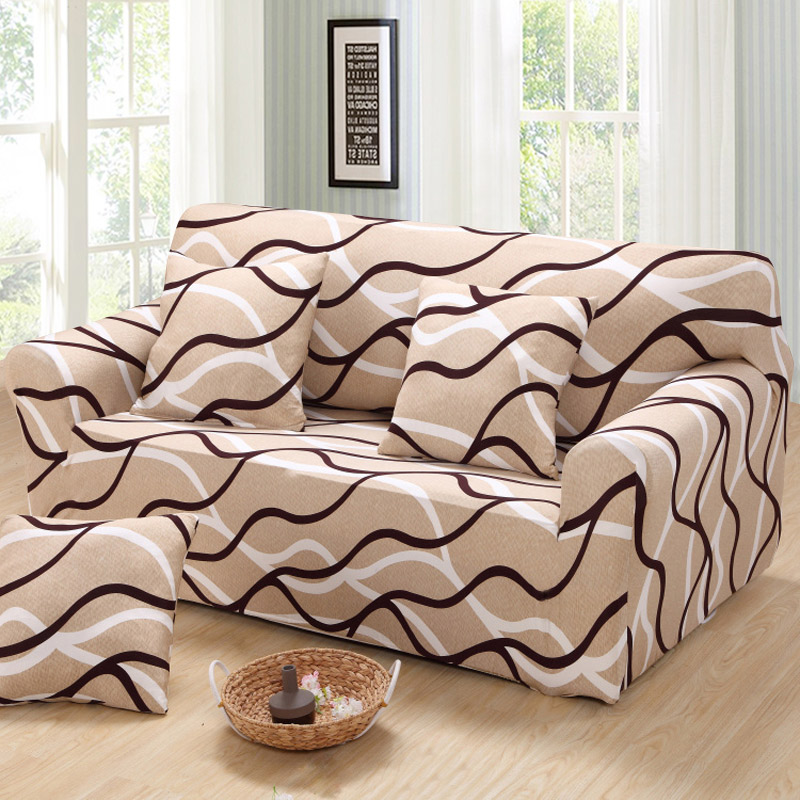 Plaid Sofa Cover Stretch Furniture Covers Housse Canape Geometric For Living Room Slipcover Copridivano Couch
