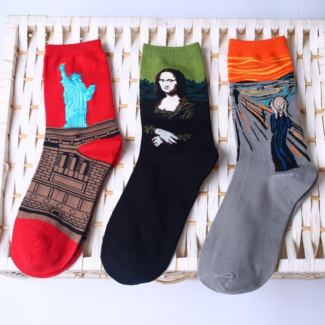 Art socks - 18 different works of art 2
