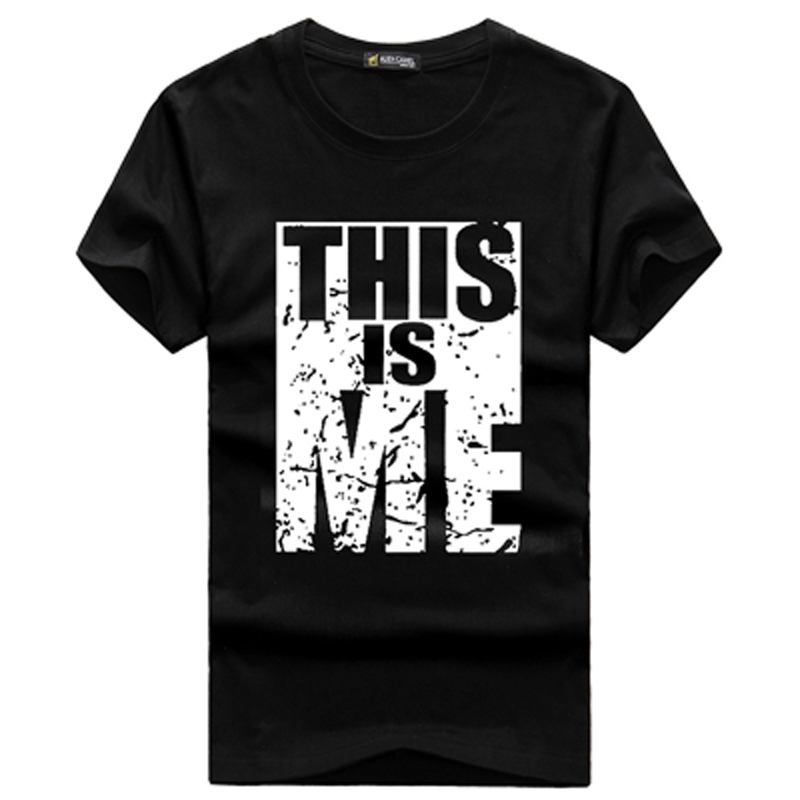 Fashion summer style printing design this is me tee for Print photo on shirt