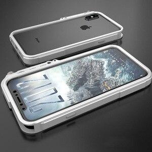 Image 3 - Funda de aluminio para iPhone 7, 8 Plus, iPhone x, xs, max, edición táctica