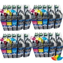купить 20x Compatible ink cartridge Brother LC123 LC121 for MFC-J870DW MFC-J650DW MFC-J425 MFC-J6720DW MFC-J6520DW DCP-J4110DW DCP-J13 дешево