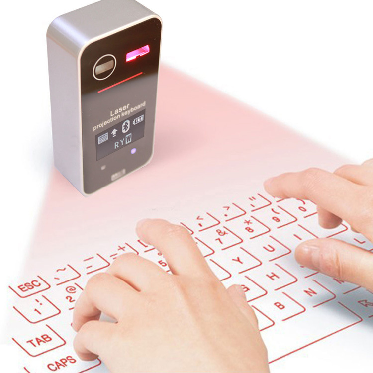 2018 new KB580 wireless laser laser Bluetooth projection keyboard wireless virtual keyboard for Desktop computers tablets пятновыводитель frau schmidt формула двойного действия 2шт 91083