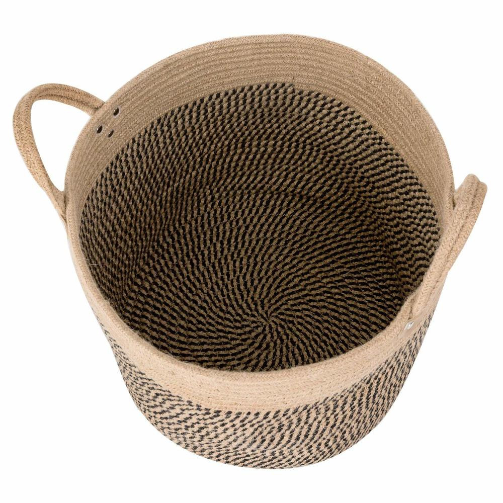 Large Basket Woven Storage Basket With Handles Natural Jute Laundry Basket Toy Towels Blanket Basket Home Decor Gift