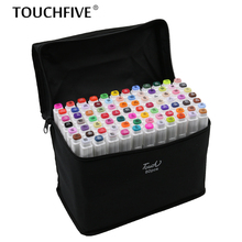 TouchFIVE sketch art Supplies mark pen Alcohol Marker pen soluble pen cartoon graffiti Art markers for designers markers