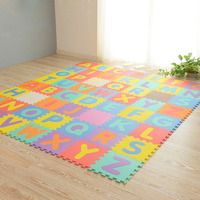 Kid's Multicolored Numbers Puzzle Play Mat EVA Drop proof Moisture proof Bubble Mat @ AN88