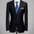 Clásico de hombre otoño del resorte hombres Blazers completo manga trajes de negocios de Slim Outwear gentlem formales ropas hombres Blazers
