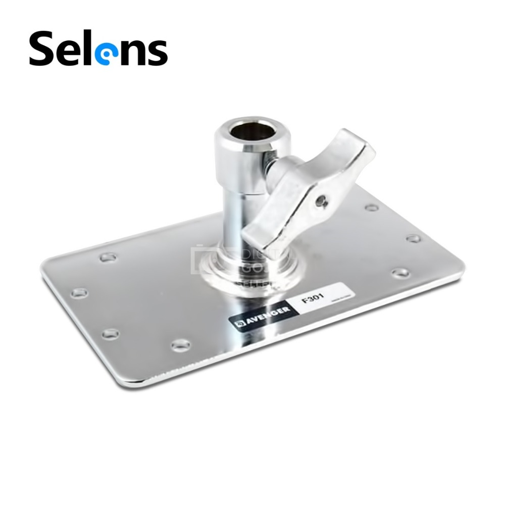 Selens Stainless Steel T Flash Lamp Lamp Stand Tripod Universal Flash Flash Accessories Special Ceiling Bracket