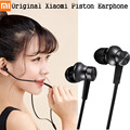 Original Xiaomi Earphones Piston Basic with Microphone Mic Handsfree Wire Control Xiaomi Piston Fresh Support Noise Cancelling