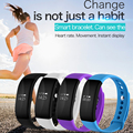 Fuster New Arrival Heart Rate Monitor Bluetooth Fitness Smart Bracelet for HTC Samsung S7 iPhone 7 V66 Smart Band in Stock