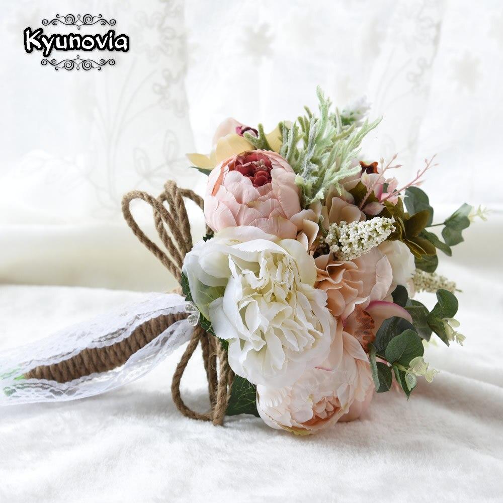 Kyunovia New Camellias Wedding Bouquet Plants Floral Bouquet Gift ...