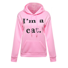 IM A CAT Kawaii Hoodie with EARS