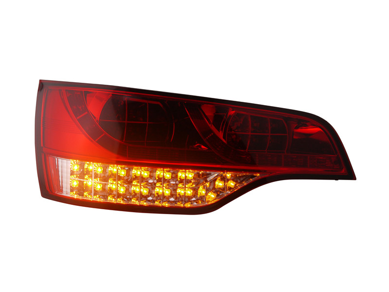 Free shipping for vland factory for Audi Q7 taillight led rear lamp 2006 2007 2008 2009  plug and play design free shipping vland factory car parts for camry led taillight 2006 2007 2008 2011 plug and play car led taill lights