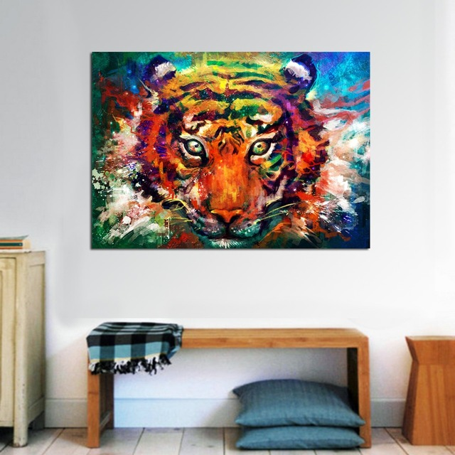 JQHYART Animal Painting Canvas Print Wall Pictures For Living Room Painting Canvas Art Posters And Prints Home Decor No Frame