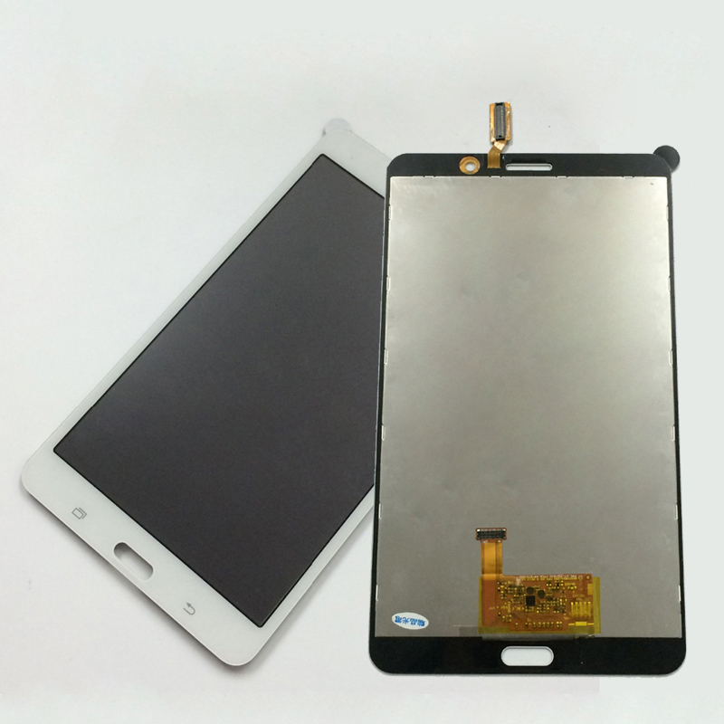 White For Samsung Galaxy Tab 4 7.0 T231 T235 SM-T231 SM-T235 Touch Screen Digitizer Sensor + LCD Display Panel Monitor Assembly