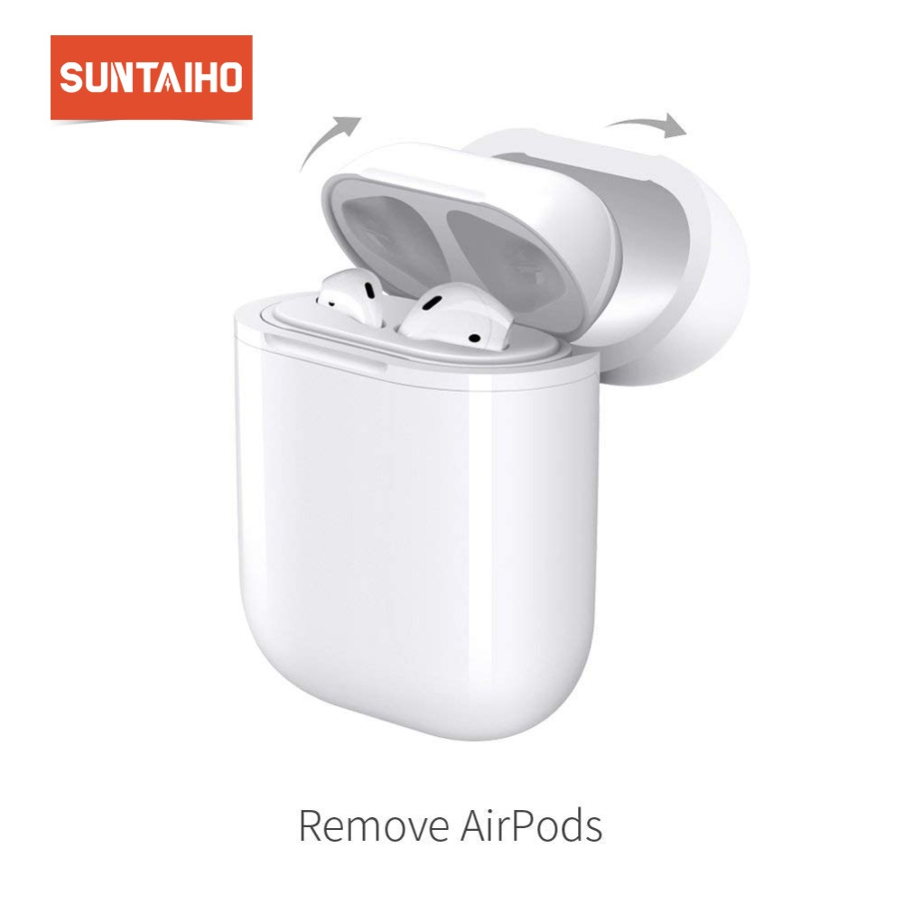 Suntaiho for AirPods Wireless Charging Case for Apple QI Standard Wireless Receiver Compatible With Any Wirless Charger стоимость