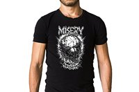 Misery From Where The Sun Never Shines 2011 Mother Nature Song Cover T Shirt Death Metal