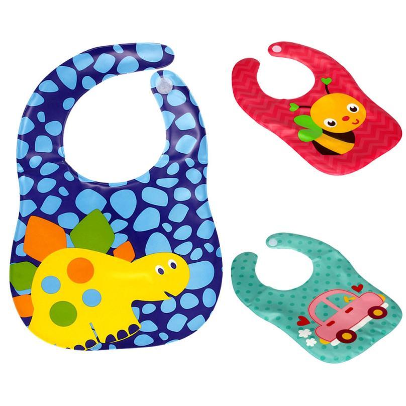 Baby Bib Baby Stuff New Kids Child Translucent Plastic Soft Baby Waterproof Bibs EVA 2018