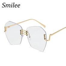 516c27469bb7a Óculos de Sol sem aro Sem Moldura Óculos De Sol polígono Óculos da moda  Óculos de Sol Das Mulheres Óculos Óculos de Sol Das Mulh.