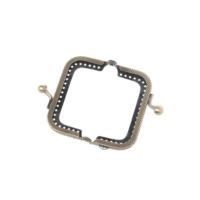 Kiss Clasp Lock Frame 1PC/5PCS/10PCS 6.5cm By Wholesale Metal Purse Bag Frame Kiss Clasp Lock Bronze Tone DIY Craft