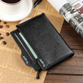 Fashion Men Wallets Mobile Page Design 4 Colors  Long Style Zipper  Wallet Quality PU Leather Card Holder Purse Free Shipping