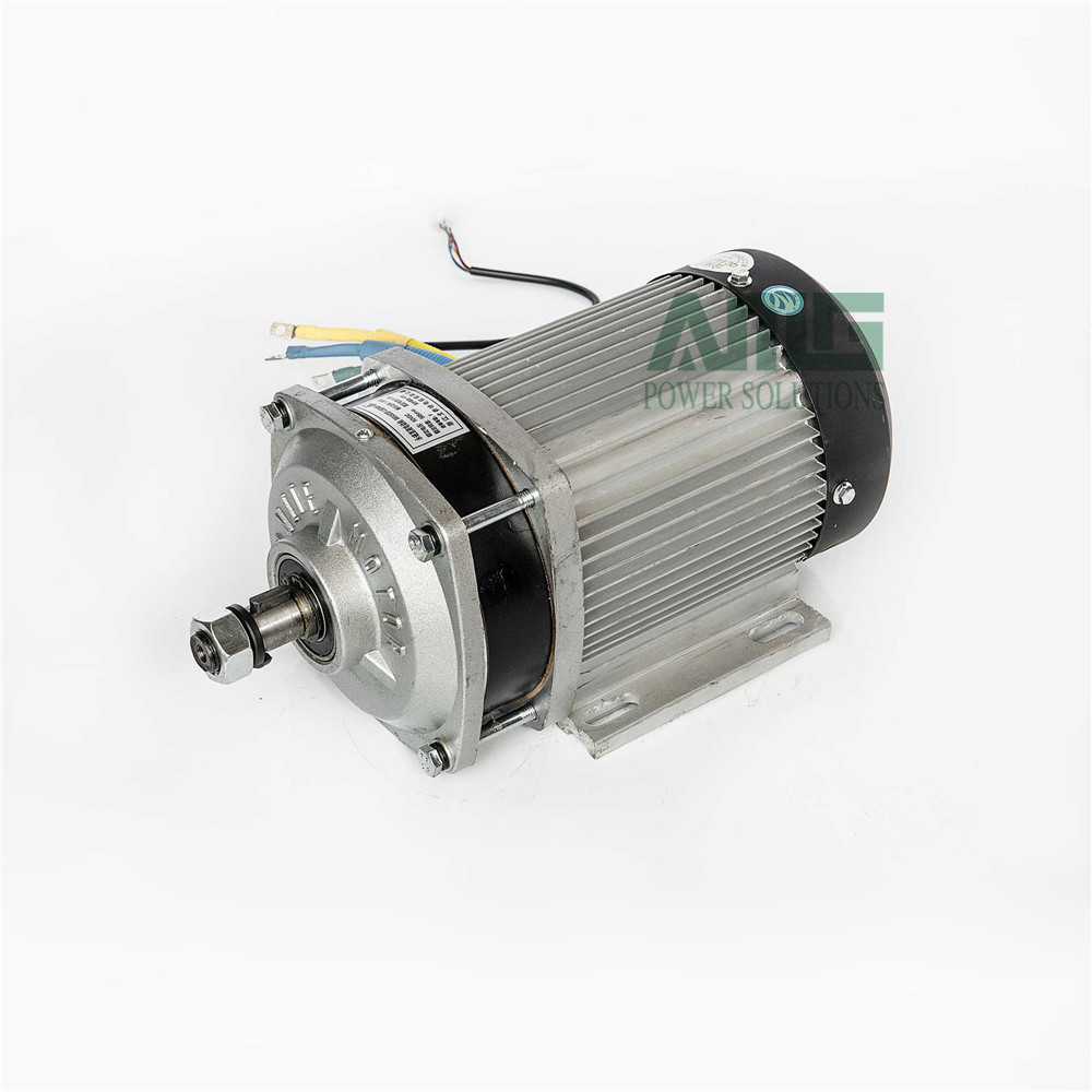 1500W/1800W/2200W DC 48/60/72V 2850rpm high speed brushless differential motor for electric tricycle, BM1424ZXF 30a esc welding plug brushless electric speed control 4v 16v voltage