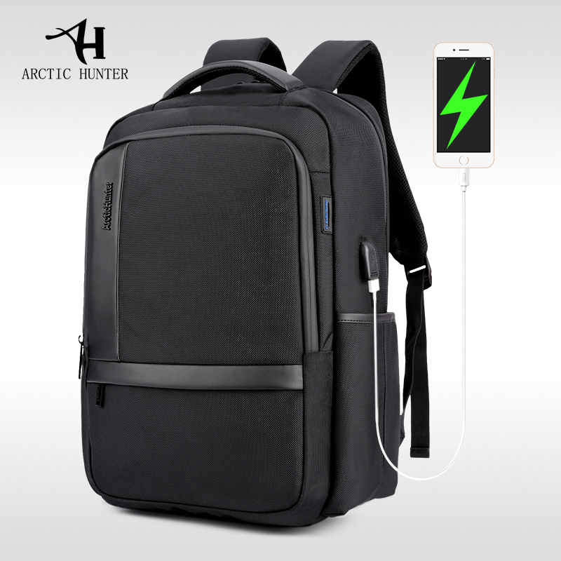 ARCTIC HUNTER Brand Casual Men Shoulder Laptop Bag Nylon Waterproof Students Bag Computer Shockproof Men's Backpack School Bags brand shockproof laptop backpack nylon waterproof men women computer notebook bag 15 6 inch school bags backpack ks3027w