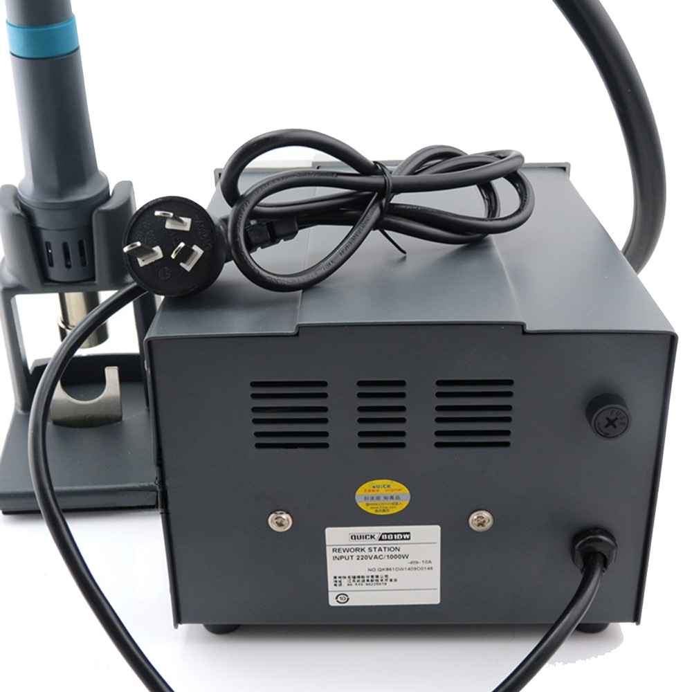 Original 1000W QUICK 861DW heat gun lead free hot air soldering ...