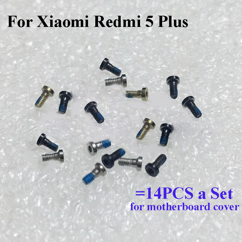 14PCS a set Screw For Xiaomi Redmi 5 Plus mainboard font b motherboard b font Cover