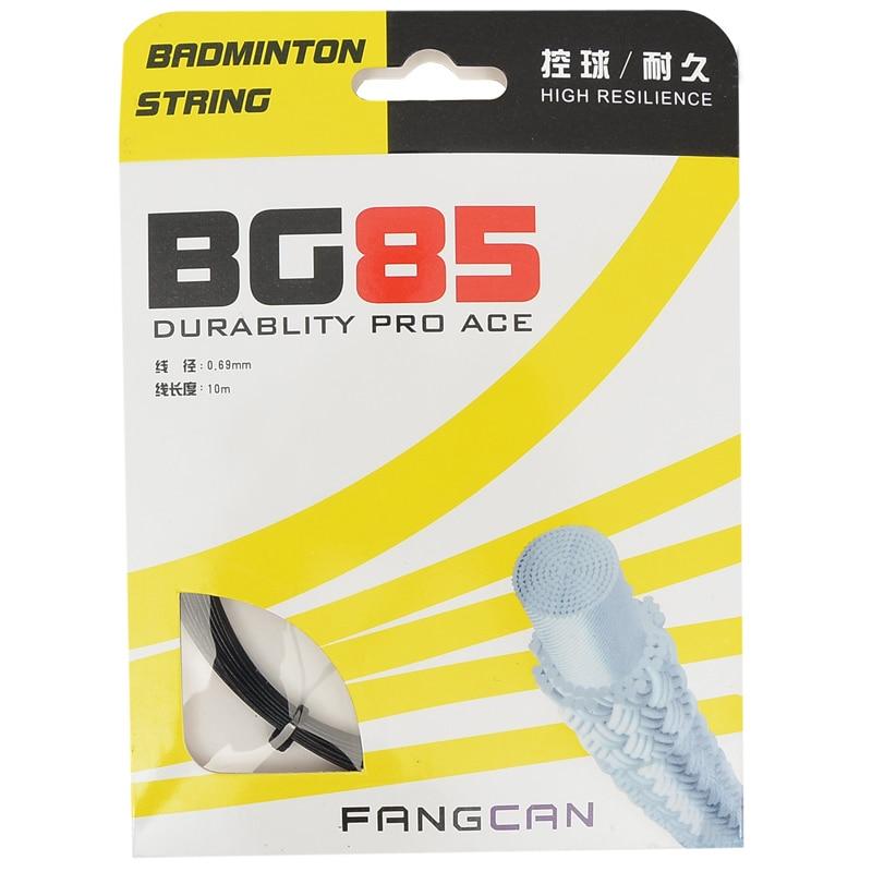 4gab. FANGCAN BG85 augstas kvalitātes badmintona string BG85 izturīga un elastīga virkne 26-28 kg