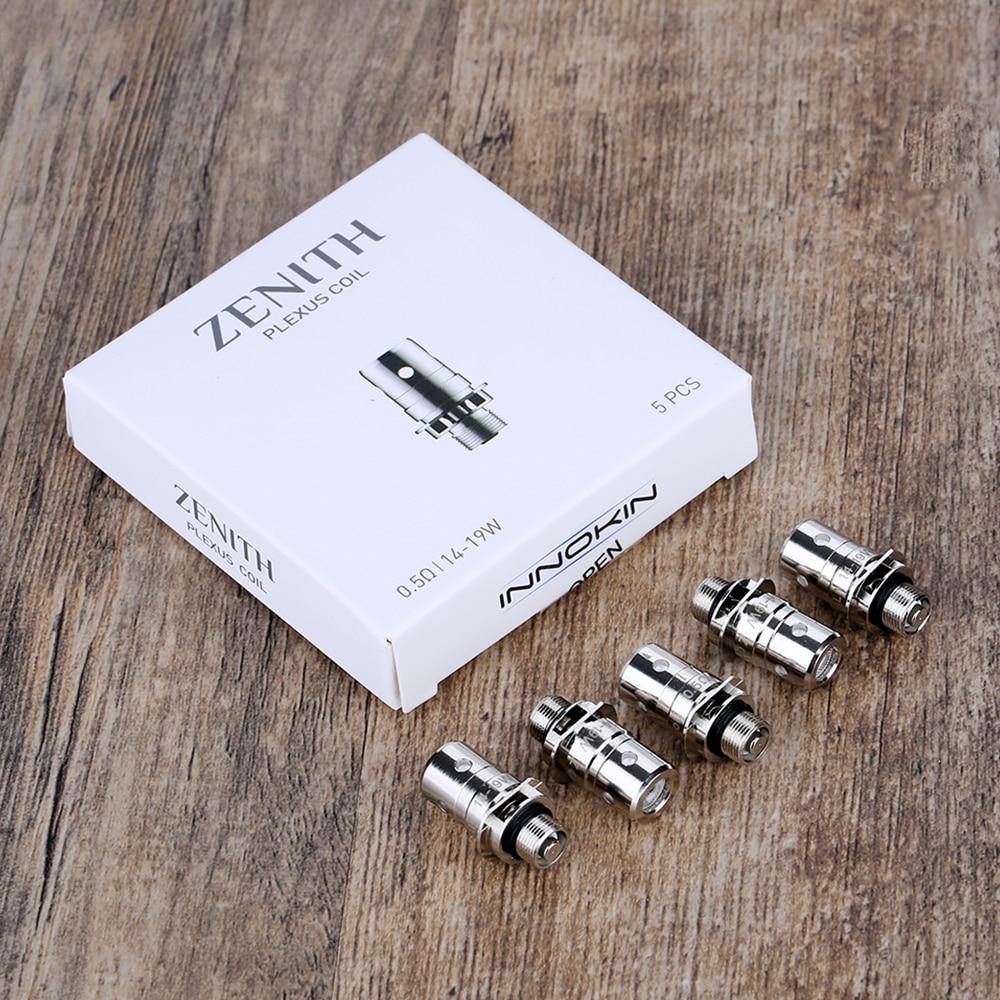 5pcs /10pcs/ 20pcs/ 50pcs!!! Innokin Zenith Coils Replacement Atomizer Core For Zentih MTL Tank Easy To Replace E-cig Vape Coils