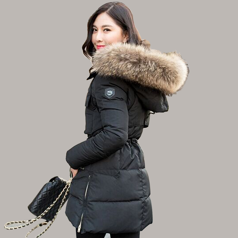TOP Quality Large Real Natural Raccoon Fur 2017 Winter Jacket ...
