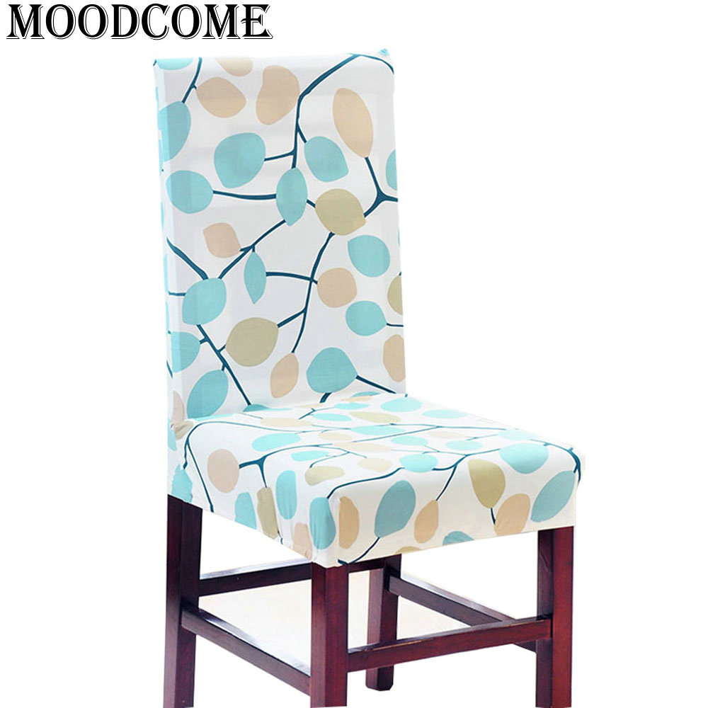 Stoelhoezen Eetkamer Beige Us 3 26 Canada Maple Leaf Chair Cover Polyester Stretch Dining Chair Covers Housse Chaise Dining Elastic Stoelhoes Eetkamer In Chair Cover From Home