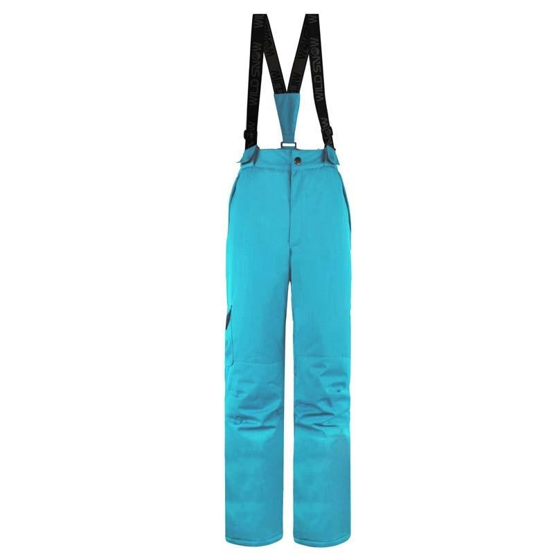 Femmes hiver Sports de neige imperméable coupe-vent pantalon garder au chaud pantalon 100% Polyester respirant femmes ski snowboard pantalon - 5