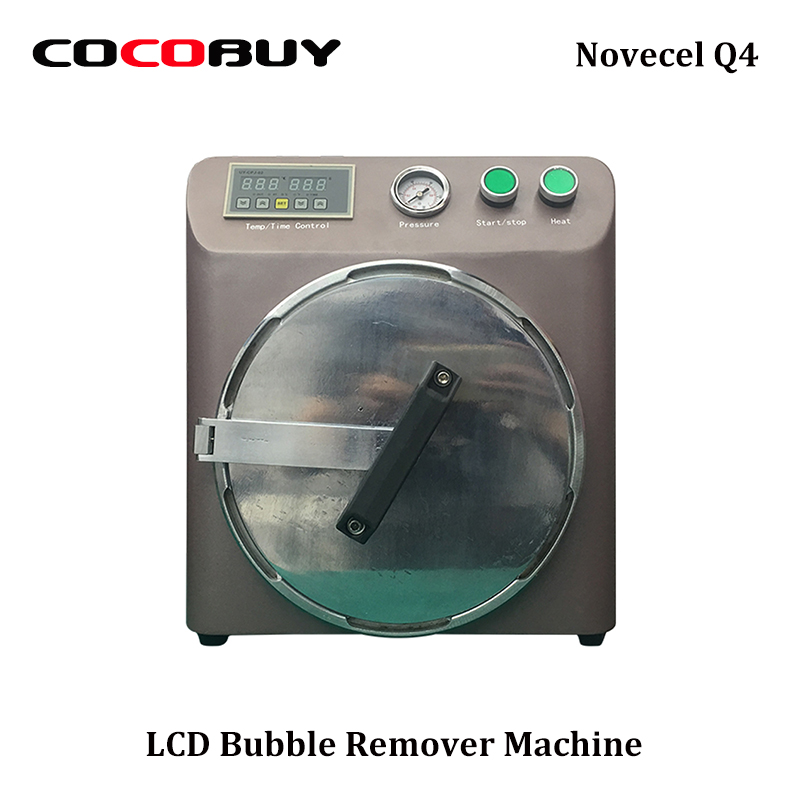 Q4 OCA Bubble Remover Machine Auto Air Bubble Removing Machine For Samsung and Iphone LCD Refurbishment keneksi q4 black