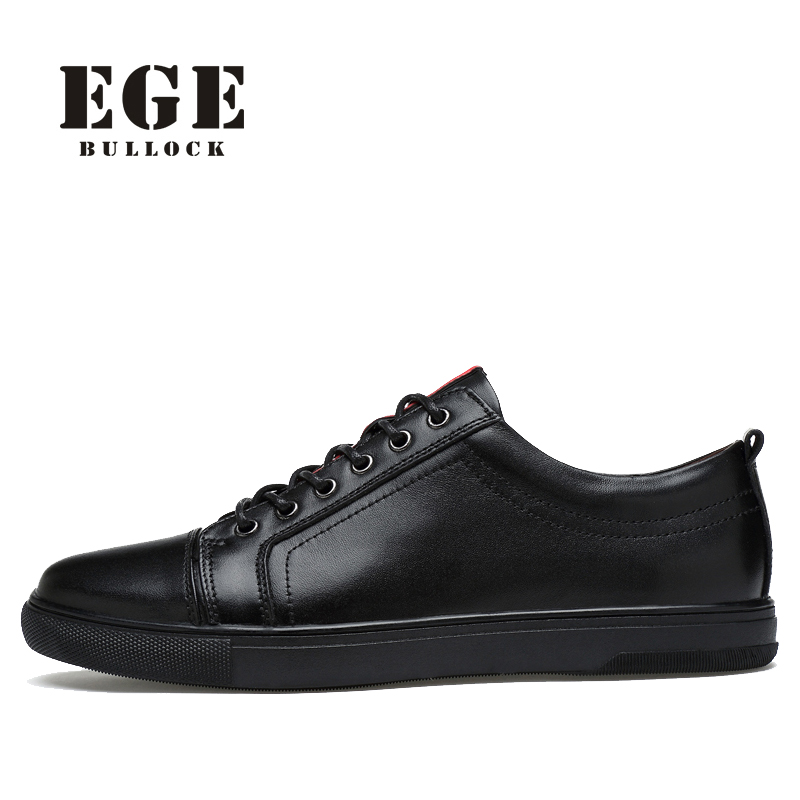 Men Shoes Plus Size New Arrival Genuine Leather Men Flats Black Lace-up Spring Sneakers Waterproof Casual Shoes for Men zjnnk hot sale genuine leather men casual shoes black brown men flats handmade men father shoes lace up men shoes dropship h825