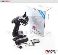 GARTT Flysky FS GT2B FS GT2B 2.4G 3CH Gun Controller Transmitter Receiver TX Battery USB Cable For RC Car Boat