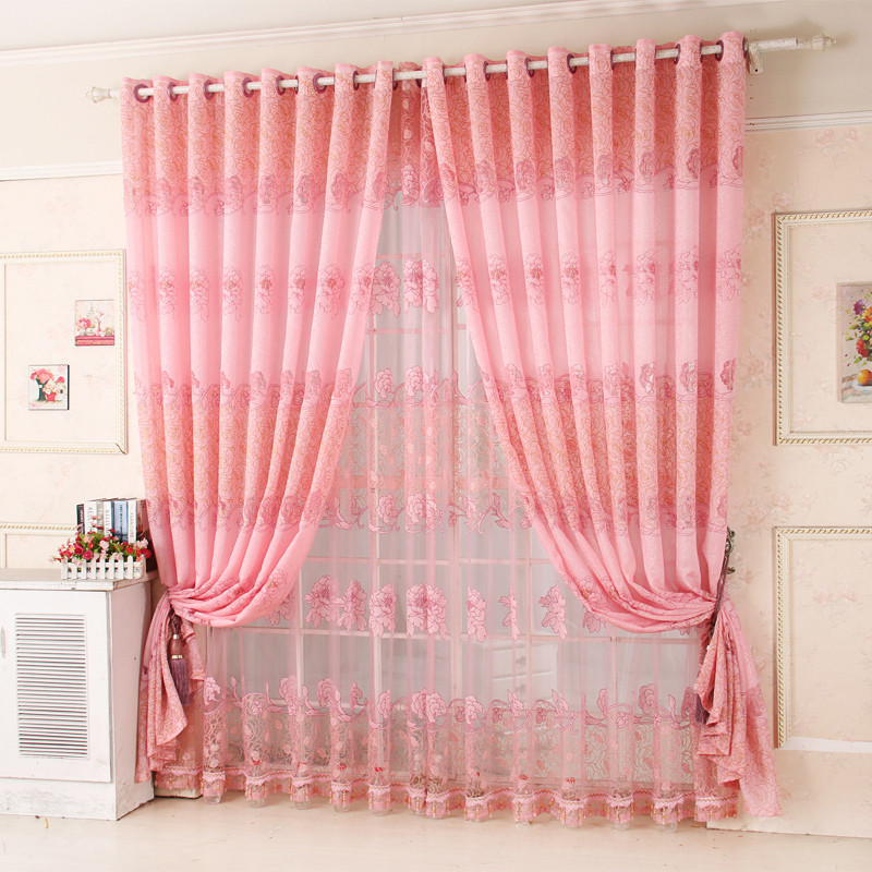 2017 on sales Rustic hole digging curtain carved curtains for living ...